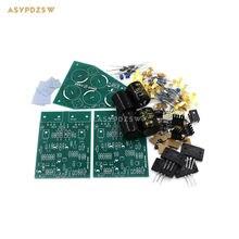 Matche 2PCS Mono channel AMP+1PCS PSU Clone UK NAIM NAP140 Power Amplifier kit