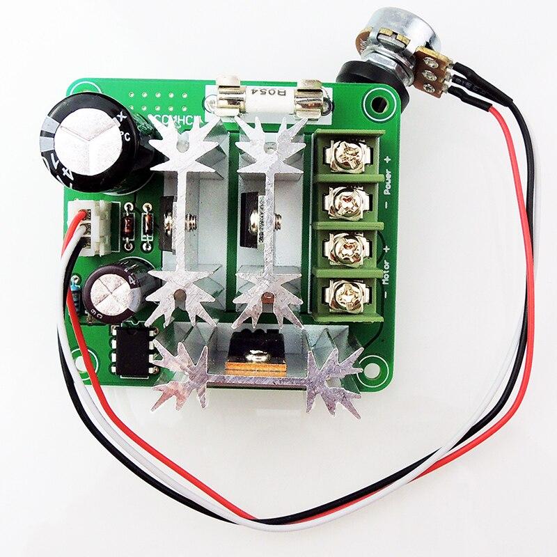 CCMHCN DC Motor Speed Controller PWM Speed Adjustable Regulator PLC 6V-90V 15A in Stock Hot Sale