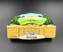 Austria Vienna travel refrigerator stickers