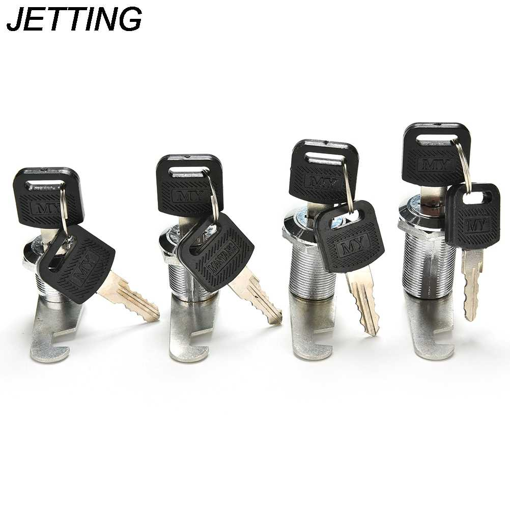 JETTING 1PCS Cam Cylinder Locks Door Cabinet Mailbox Drawer Cupboard Locker Security Furniture Locks With Plastic Keys Hardware