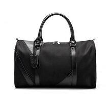Wobag Новая модная спортивная сумка для сна, водонепроницаемая нейлоновая мужская сумка для путешествий, большие дорожные сумки через плечо