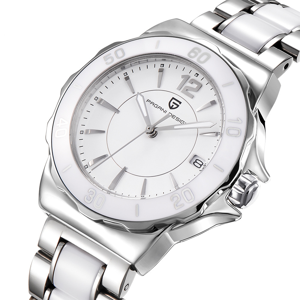 Pagani Design Senhoras de Alta Qualidade Pulseira De Cerâmica Mulheres Relógio Famosa Marca de Luxo Da Moda Relógios para As Mulheres das Mulheres