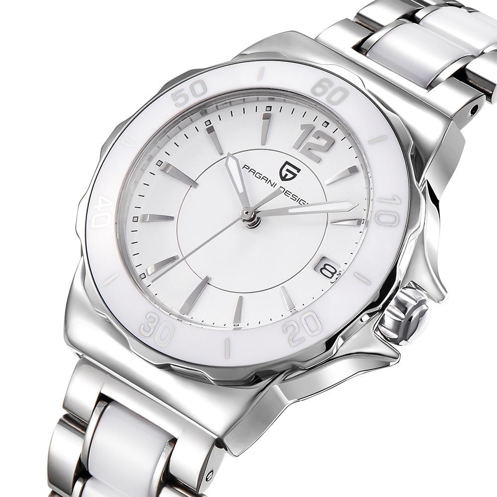 Pagani design senhoras de alta qualidade pulseira cerâmica relógio feminino famosa marca luxo moda feminina relógios para mulher