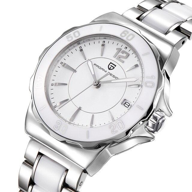 Pagani עיצוב גבירותיי גבוהה באיכות קרמיקה צמיד נשים שעון מפורסם יוקרה מותג אופנה נשים שעונים לנשים