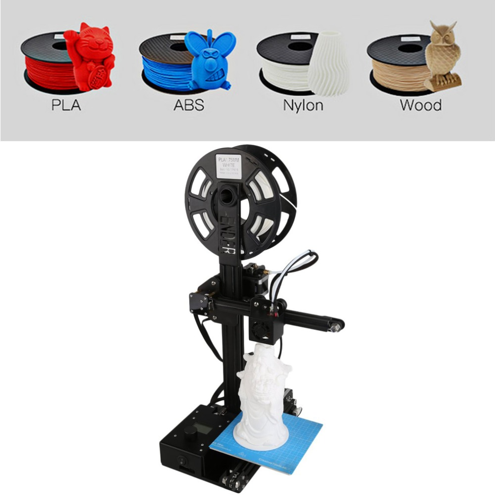 High Precision Large Printing Size 150 *150 *200mm DIY Desktop LCD 3D Printer Kit Aluminum Frame Ender 2 ender 2 desktop diy 3d printer kit