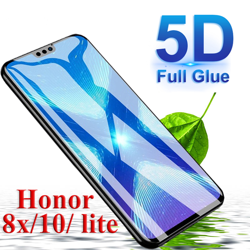5pcs <font><b>5D</b></font> Protective <font><b>glass</b></font> on for <font><b>huawei</b></font> <font><b>honor</b></font> 8x 10 8 lite <font><b>9</b></font> 9i tempered glas full cover <font><b>huawei</b></font> <font><b>honor</b></font> 8x honor10 light case image