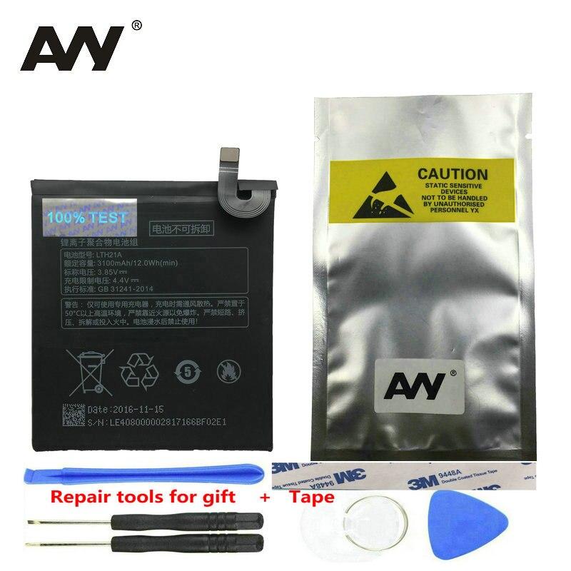 AVY batería LTH21A Letv Le Max 2X820X821X829 LeEco Max2 teléfono móvil recargable Li -baterías de polímero de 3100 mAh a prueba