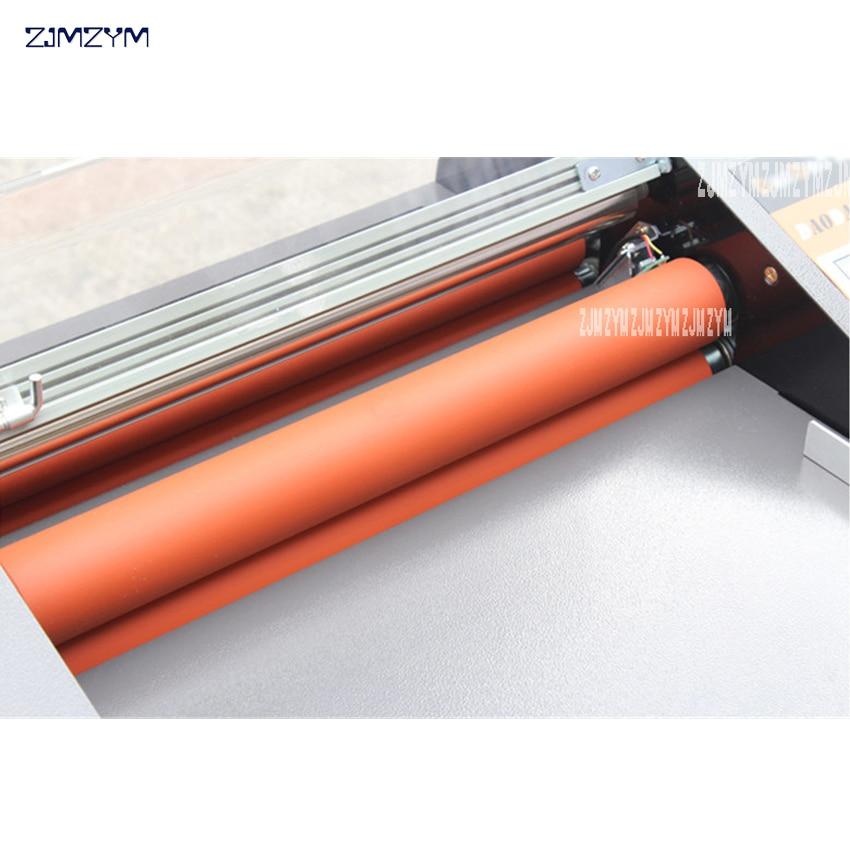 FM-380 popieriaus laminavimo mašina, studentų kortelė, darbuotojo - Biuro elektronika - Nuotrauka 5