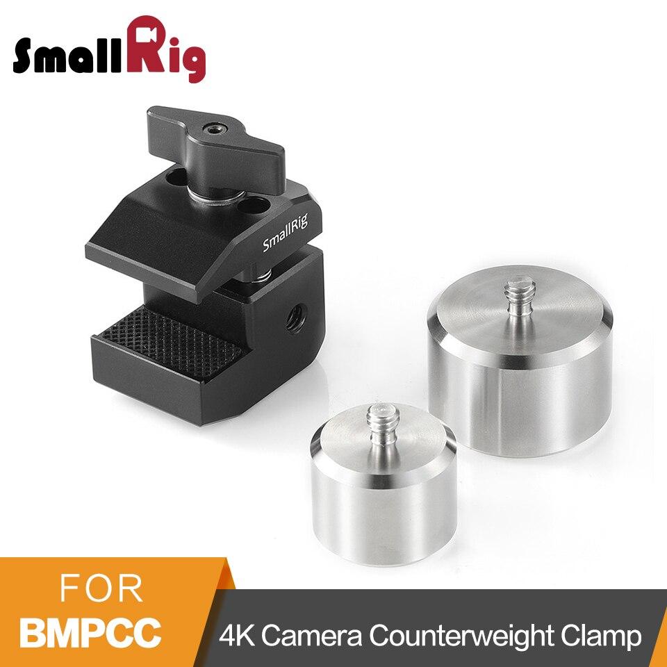SmallRig pour BMPCC 4 K caméra contrepoids pince de montage pour DJI Ronin S/Zhiyun Weebill Lab/grue 3 Lab/2/V2/Plus Gimbals-2274