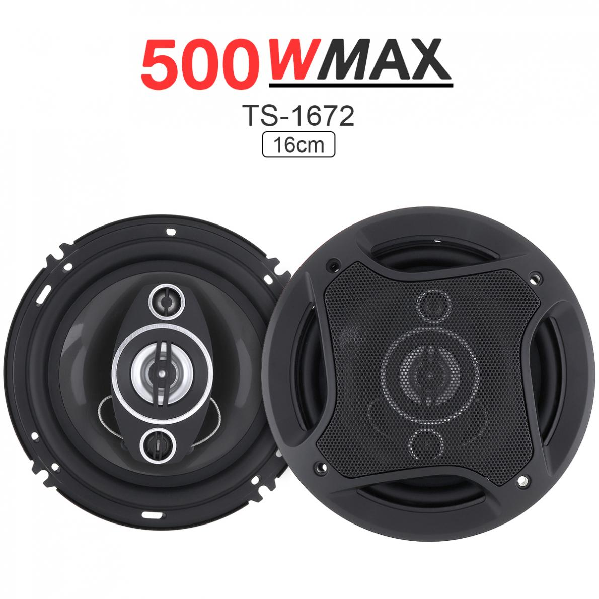 2Pcs 6 Inch 500W Car Speaker Coaxial Auto Audio Music Stereo Full Range Frequency Hifi Speakers
