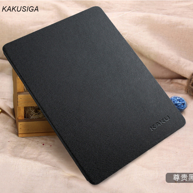 Smart Auto Sleep Wake KAKUSIGA Clear Silk Leather Case For iPad pro 9.7 Stand Function Protective Cover For iPad pro 12.9