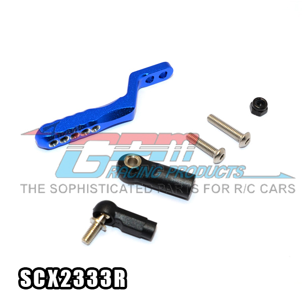 TRAXXAS TRX4 SCX10 II 90046.047 1/10 axial alloy tow hitch rear mop resistance with stainles steel screws - set SCX2333R