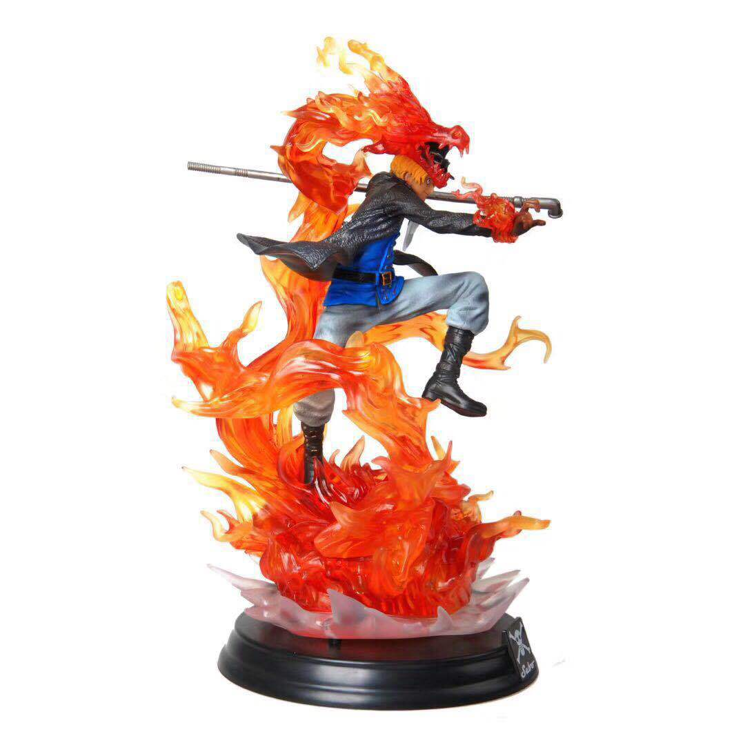 Anime ONE PIECE P O P XL Sabo Motion Ability Figure Model Toys