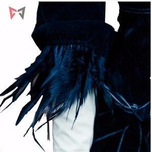 Image 3 - Athemis NieR Automata Cosplay Costumi YoRHa No. 2 di Tipo B cosplay costume 2B set formato su ordine