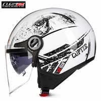 LS2 OF577 Scooter Open Face Motorcycle Helmet Jet Women Men Casco Moto Casque Kask Capacetes de Motociclista