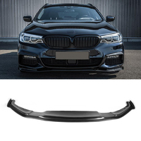 HA M Style Mtech Sport Bumper Carbon fiber front Lip fit For BMW 5 Series G30 G31 G38