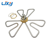 2inch DN50 Plum Shape Water Heating Element 201 Stainless Steel Electric Water Heater 220V 380V Heater