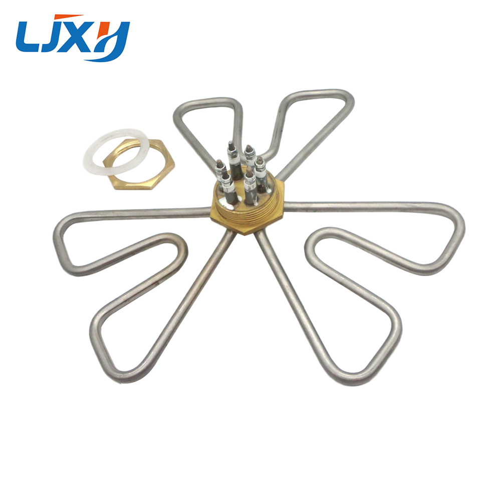 2inch/DN50 Plum Shape Water Heating Element,201 Stainless Steel Electric Water Heater,220V/380V,Heater For Tank 3KW/6KW/9KW/12KW