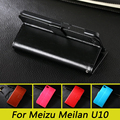For Meizu MEILAN U10 Case Luxury Wallet PU Leather Case Cover For MEILAN U10 Flip Protective Cell Phone Shell Back Cover Skin