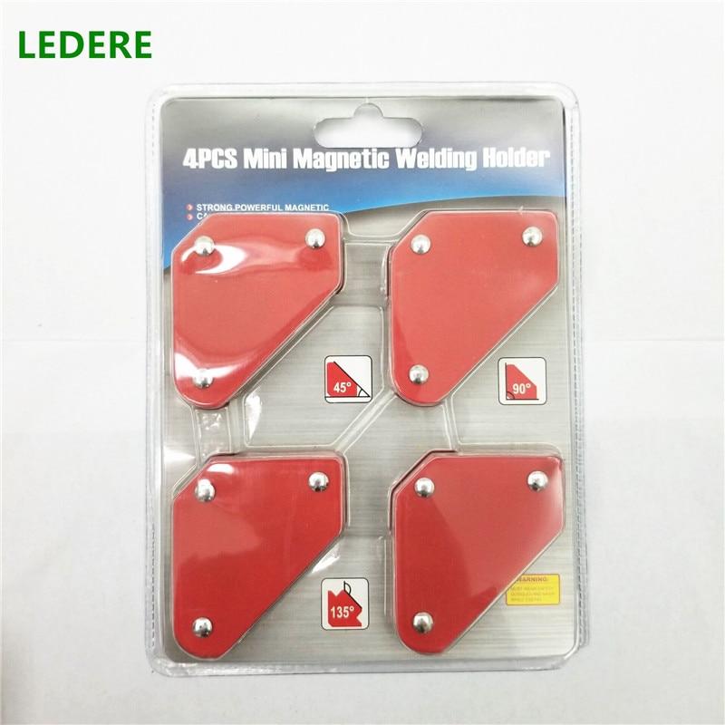4PCS 10LB welding magnet mini Multi angle magnetic welding tool welding holder suction iron magnet Neodymium Magnetic Clamp цена