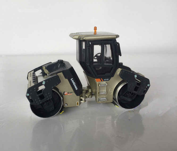Alloy Model Gift 1:50 Scale Liugong 6212E Road Roller Compactor Engineering Machinery Diecast Model Toy Decoration Collection