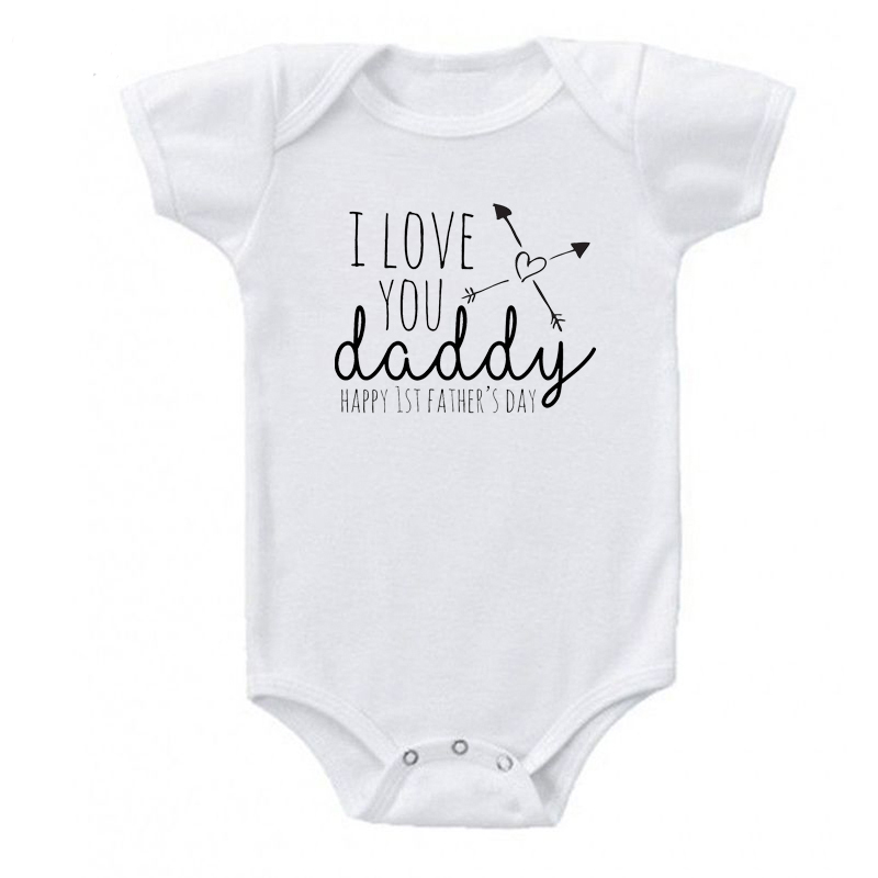 "Baby Skater Top /""I Love My Daddy this Much/"" Long Sleeved Tee Father Day Gift"