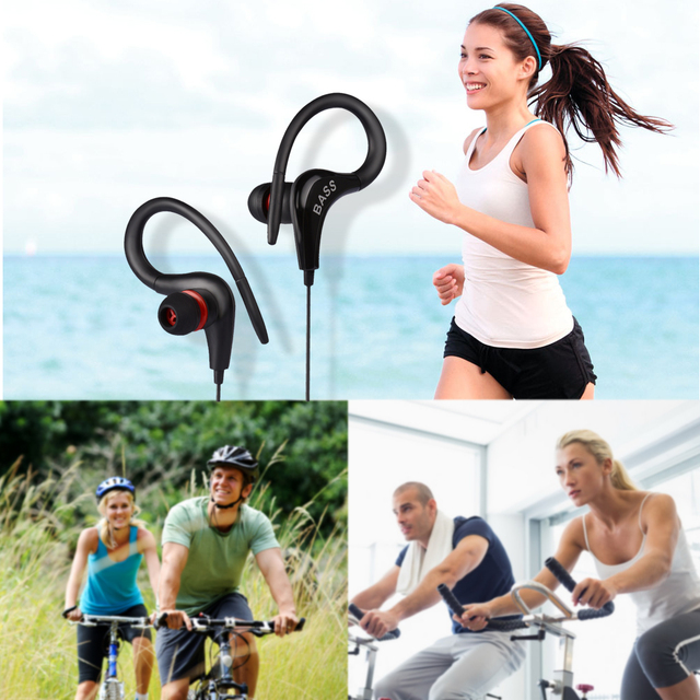 Super Bass PTM X3 Ear Sport Earbuds 5