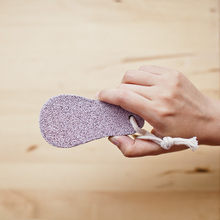 ZAKKA gourd-shaped double-sided foot rub foot stone grinding brush feet pedicure knife to dead skin calluses tool file