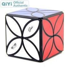 QiYi MoFangGe Clover Magic Cube XMD 4 Leaf Cubo Magico Professional Speed Neo Puzzle Kostka Antistress Fidget Toys