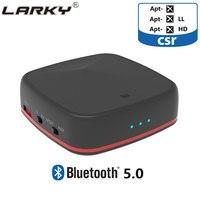 Larky CSR8675 Bluetooth 5.0 Optical Audio Bluetooth Transmitter 3.5mm Jack Bluetooth Receiver aptX HD Wireless Blutooth for Car