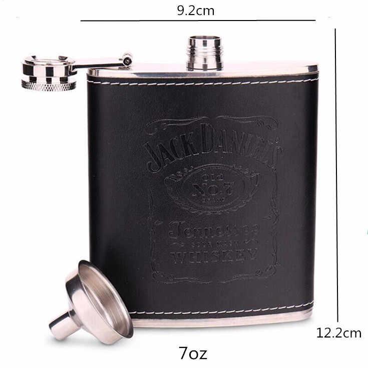 Portable 7oz//8oz Stainless Steel Hip Flask Russian Wine Mug Alcohol Pot