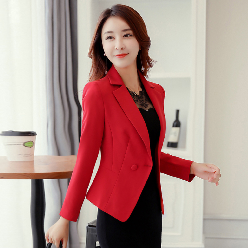J58414 Women Blazer Jacket Suit Jackets Tops