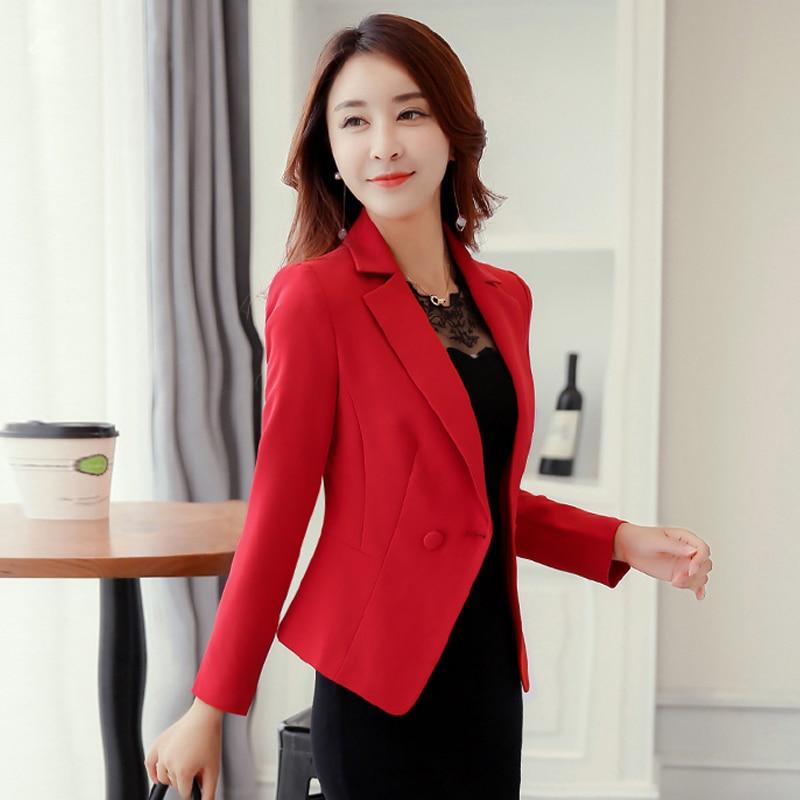 J58414 Women Blazer Jacket Suit Jackets Tops
