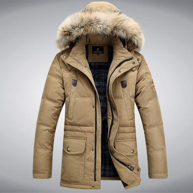 Men's winter designer coats