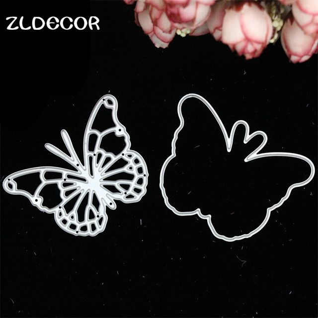 ZLDECOR Metal Butterfly Cutting Dies Stencils for DIY Scrapbooking/photo album Decorative Embossing DIY Paper Cards