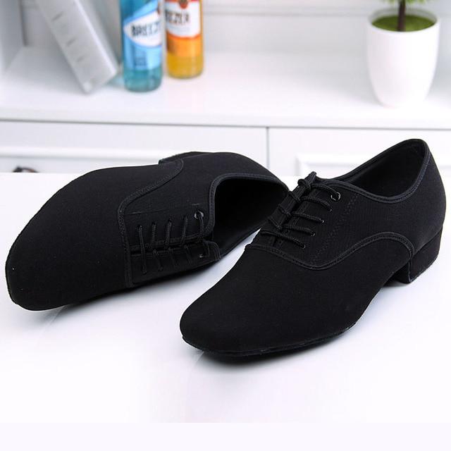BD61 Professionale Nero Tacco 2.5 cm Oxford Piazza BD Scarpe Da Ballo sala da ballo Latino scarpe da ballo di cuoio degli uomini