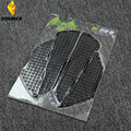free shipping Universal motorcycle Tank Traction Pad Kit Top black Stickers decals for Kawasaki NINJA ZX-6R 636 10R 12R 14R