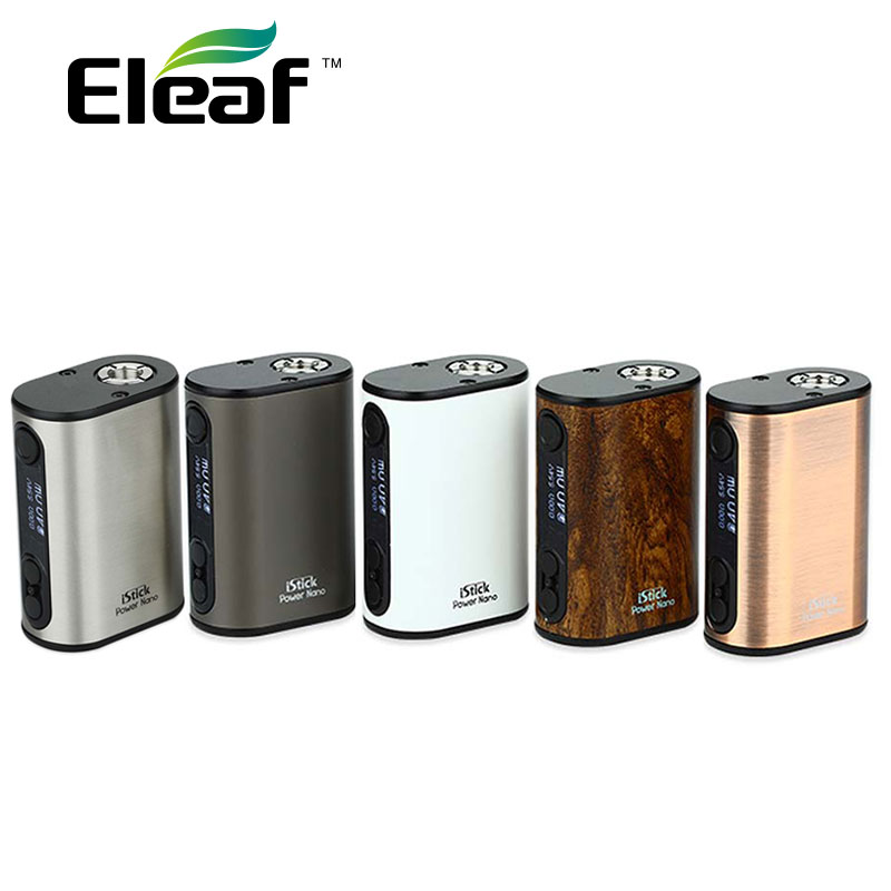 Original Eleaf istick Power Nano 40 W 1100 mAh fit Melo 3/Melo 3 Mini Tank Elektronische Zigarette istick power 40 W Vape Mod 510