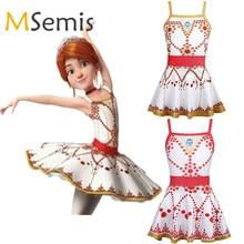 Трико балерины для девочек, балетное платье пачка с оборками и квадратным вырезом, гимнастическое балетное трико для девочек