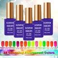Sunrim Neon Color Geles para de Uñas Gelpolish 15 ml Gel UV Esmalte de Uñas de Gel de Uñas Profesional Smalto Semi Permanente Unghie