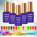 Sunrim Neon Color Gels for of Nail Gelpolish 15 ml UV Gel Nail Polish Professional Nail Gel Smalto Semi Permanente Unghie