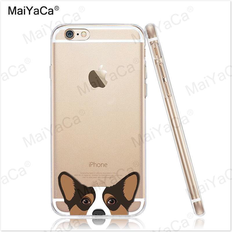 MaiYaCa pet dog Soft Transparent TPU Phone Case Case Cover Cover For - Ανταλλακτικά και αξεσουάρ κινητών τηλεφώνων - Φωτογραφία 5
