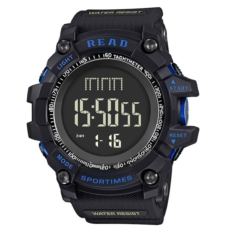 Tezer 90002 Homens Escalada Ao Ar Livre Digital Inteligente relógios Monitor de Velocidade G Estilo Militar Esportes Relógios Choque À Prova D' Água Para Os Homens