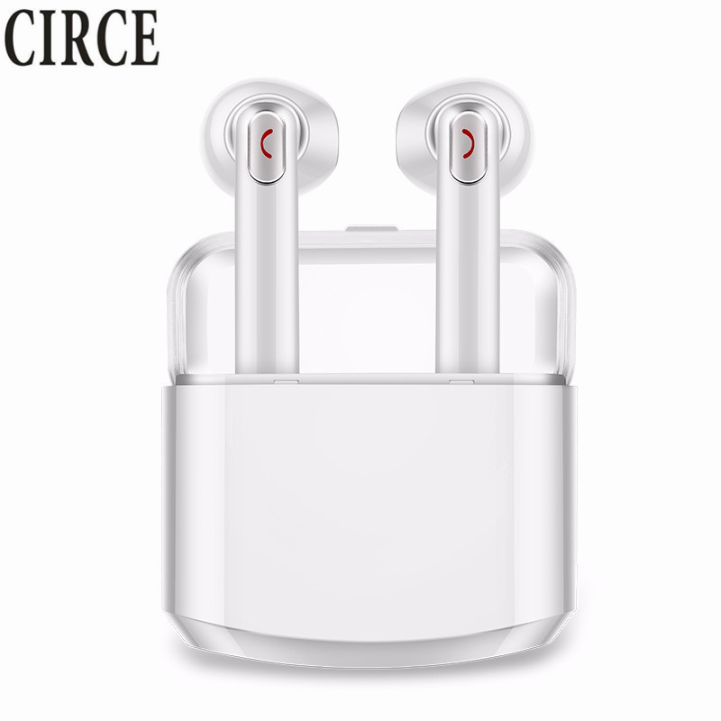 Mini Wireless Earphone IPX TWS Bluetooth Earphones HIFI Stereo Music Earbuds For Apple iPhone Samsung Xiaomi with Charging Box