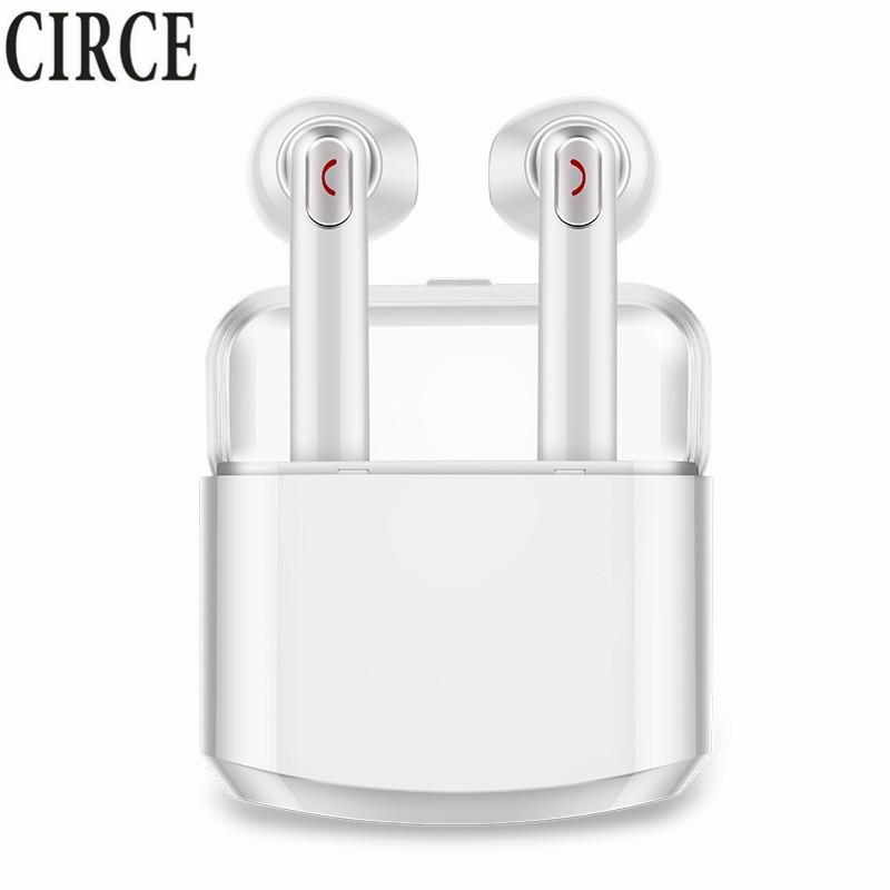 Mini Wireless Earphone IPX TWS Bluetooth Earphones HIFI Stereo Music Earbuds For Apple iPhone Samsung Xiaomi with Charging Box
