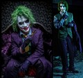 High quality Batman Arkham City joker cosplay halloween costumeS