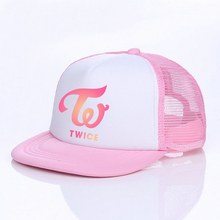 03221d26eb7 Korean Pop Star Hip Hop Cap Kpop Singer Group TWICE Snapback Hats Momo Sana  Mina TWICE