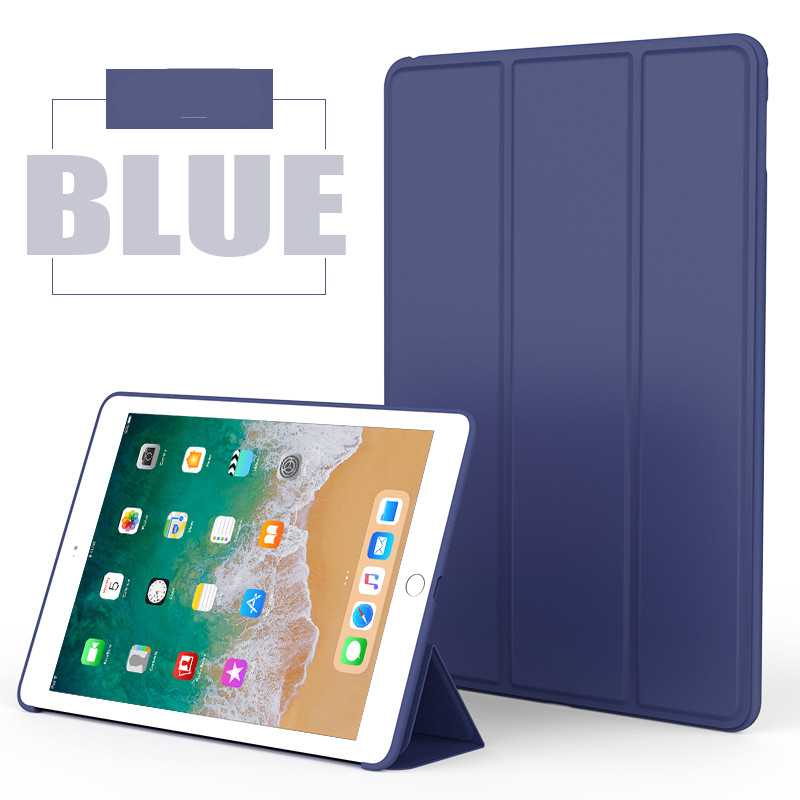 Blue Monochrome smart case with silicone back for Apple iPad Pro 10.5