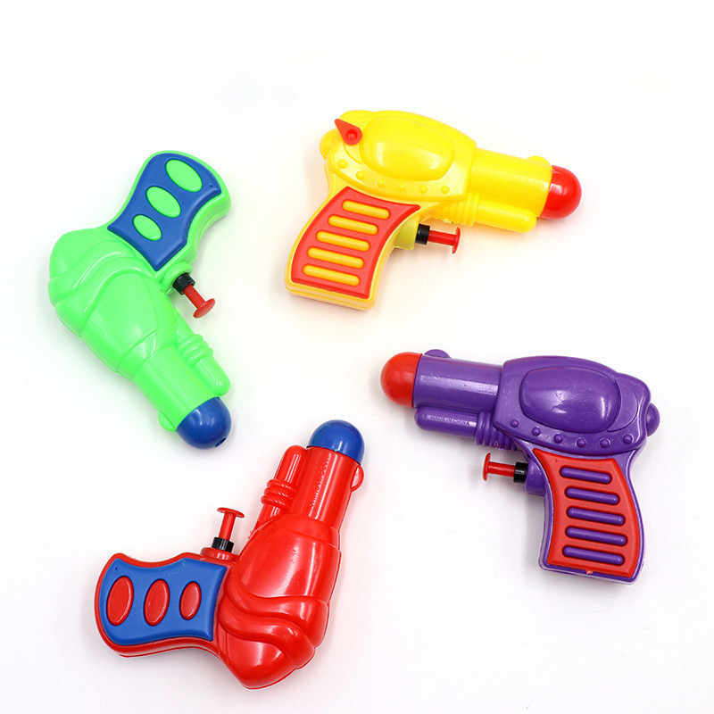 Children's Plastic Water Toy Summer Beach Kids Outdoor Sports Game Shooter Toy Gun Weapons Air Guns Toys Pistol Bathroom Toy N1