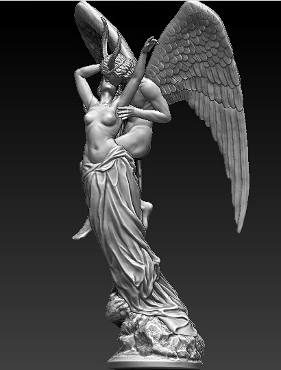 New 3D model relief stl format sculpture for CNC machine Classical sculpture martyrs faith hope and love and their mother sophia 3d model relief figure stl format religion for cnc in stl file format